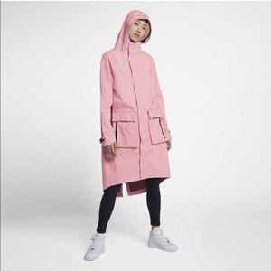 Nike Women's NikeLab Hooded Anorak Jacket Pink